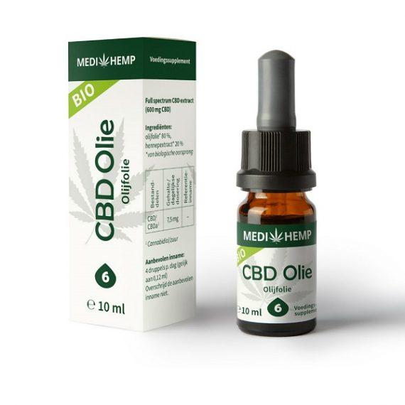 Cbd oel raw medihemp 10 ml 600 mg cbd