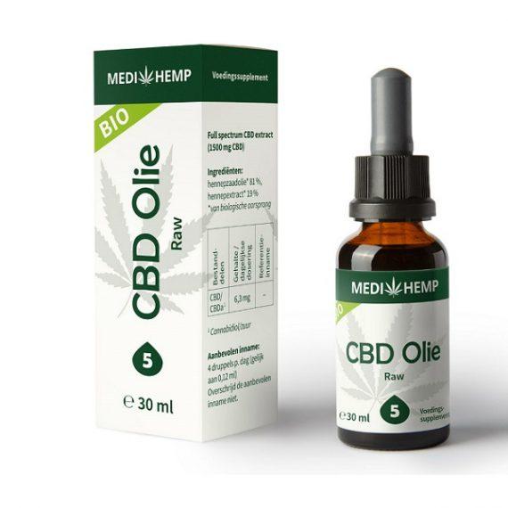 Cbd oel raw medihemp 30 ml 1500 mg cbd