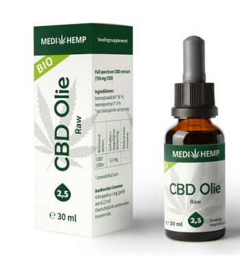 Cbd oel raw medihemp 30 ml 750 mg cbd