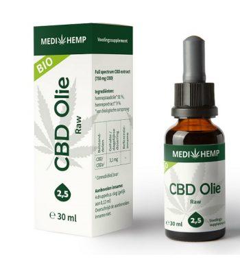 Cbd oel raw medihemp 30 ml 750 mg cbd