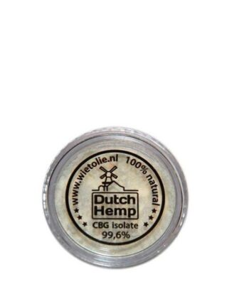 CBG-Kristalle - Dutch Hemp - 5000 mg CBG