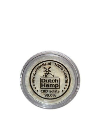 Dutch Hemp - 1000 mg CBD isolat
