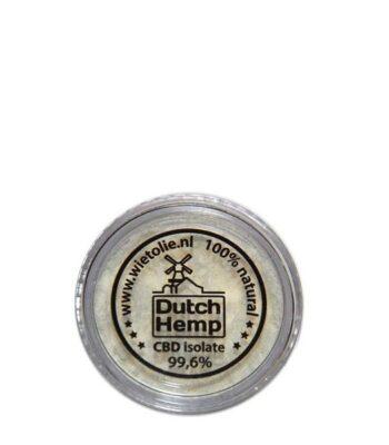 Dutch Hemp - 3000 mg CBD isolat