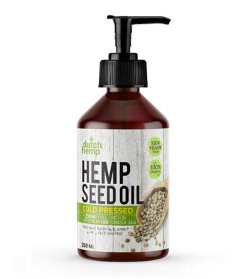Dutch Hemp CBD-Hanfsamenöl - 250 ml - 250 mg CBD